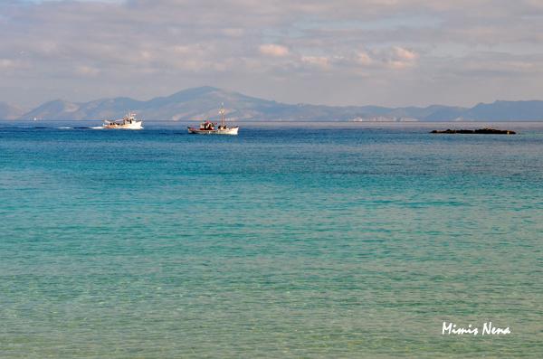 Boats on Koufonissi