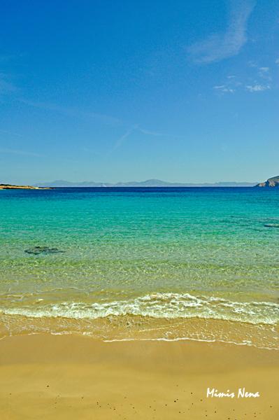 Small Beach just before Fanos Beach - Koufonissia