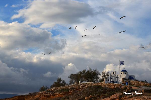 Agios Nikolaos Church on Wintertime