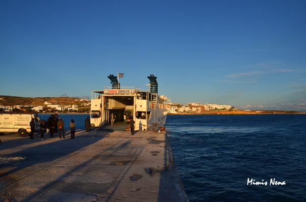 Skopelitis Boat on Port of Koufonissia