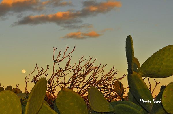 Full Moon on Sunset - Koufonissia