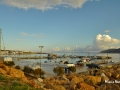 Koufonisia - Port after the rain