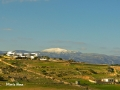 Snow on top of Naxos