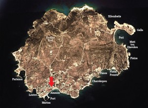 Keros-Hotel-map