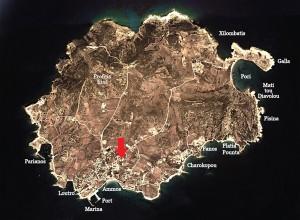 Koufonissia-Hotel-map