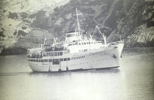 Miaoulis Ship to Koufonisia on 60s