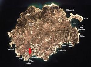Nikitouri map