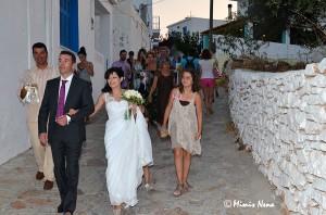 Wedding on Koufonisia