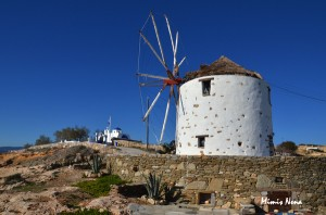 Open Windmill at Loutro Photo Gallery