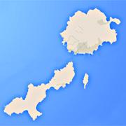 Χάρτης Κουφονήσια