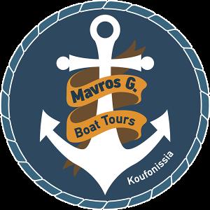 Logo Mavros G Boat Tours